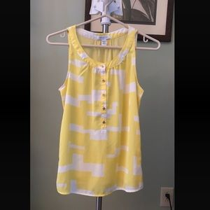 Yellow Kenneth Cole tank